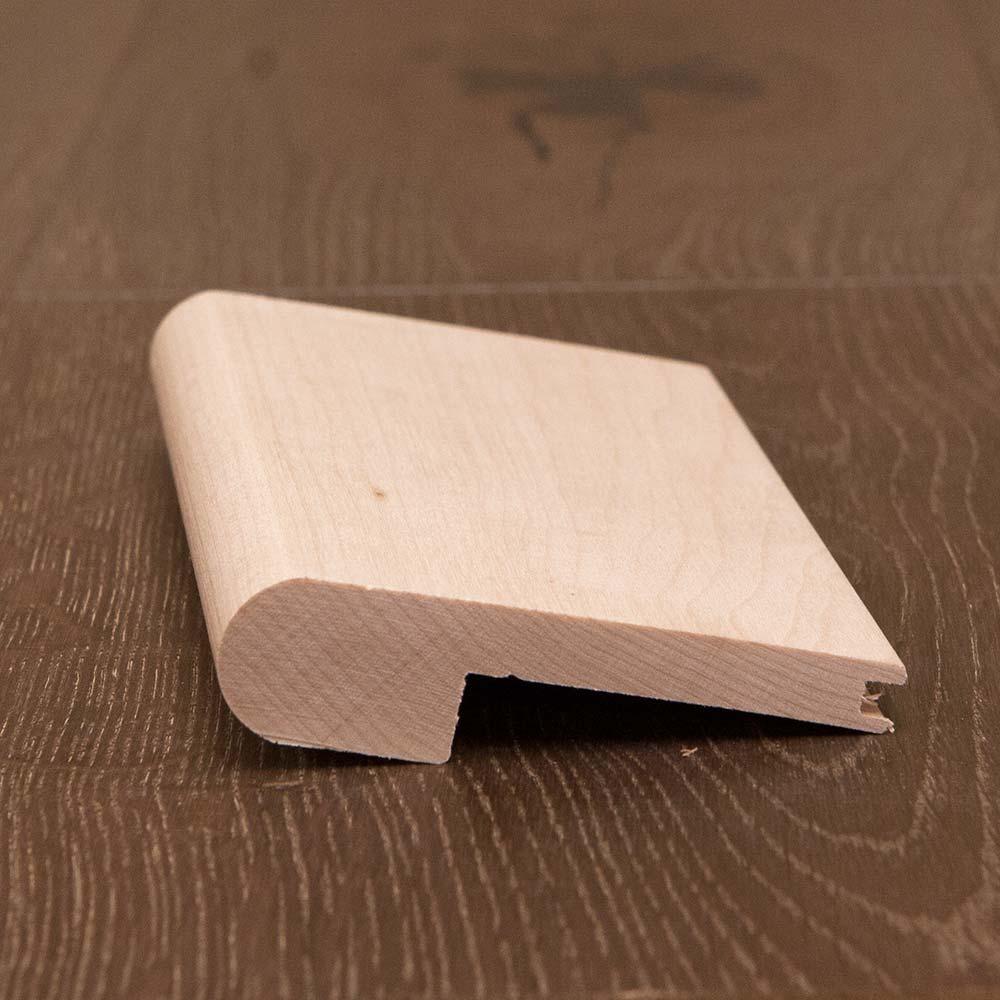 White Oak Hardwood Stair Nosing 3/8