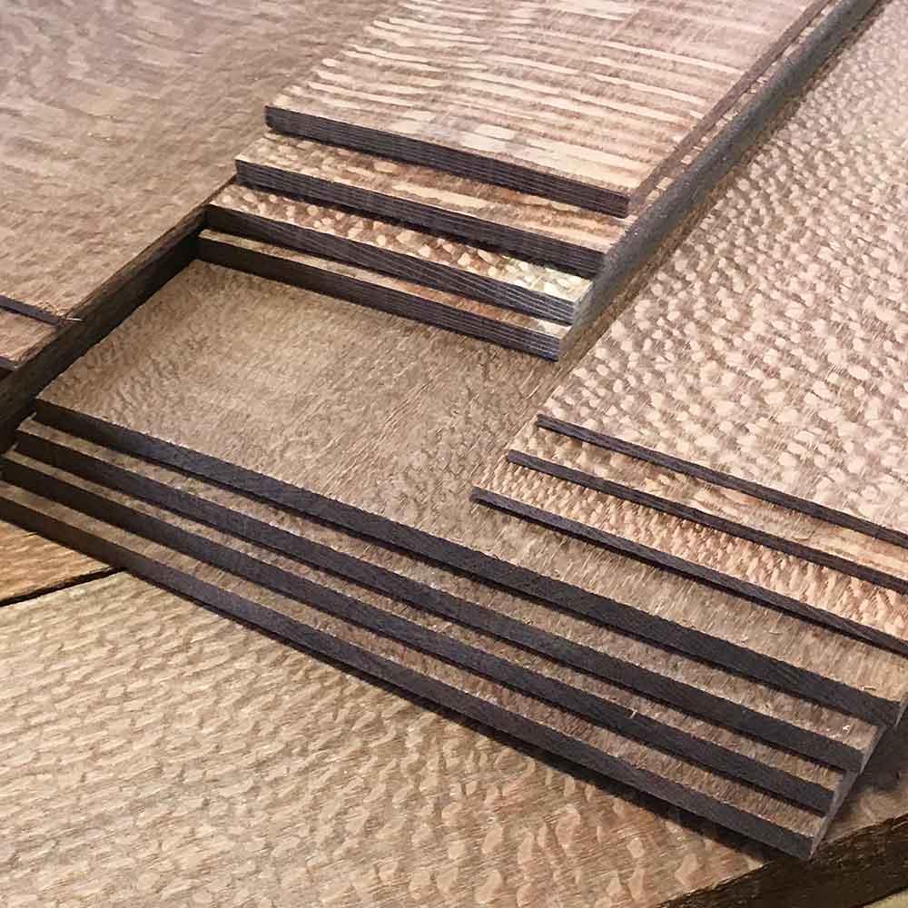 Leopardwood Dimensional Lumber