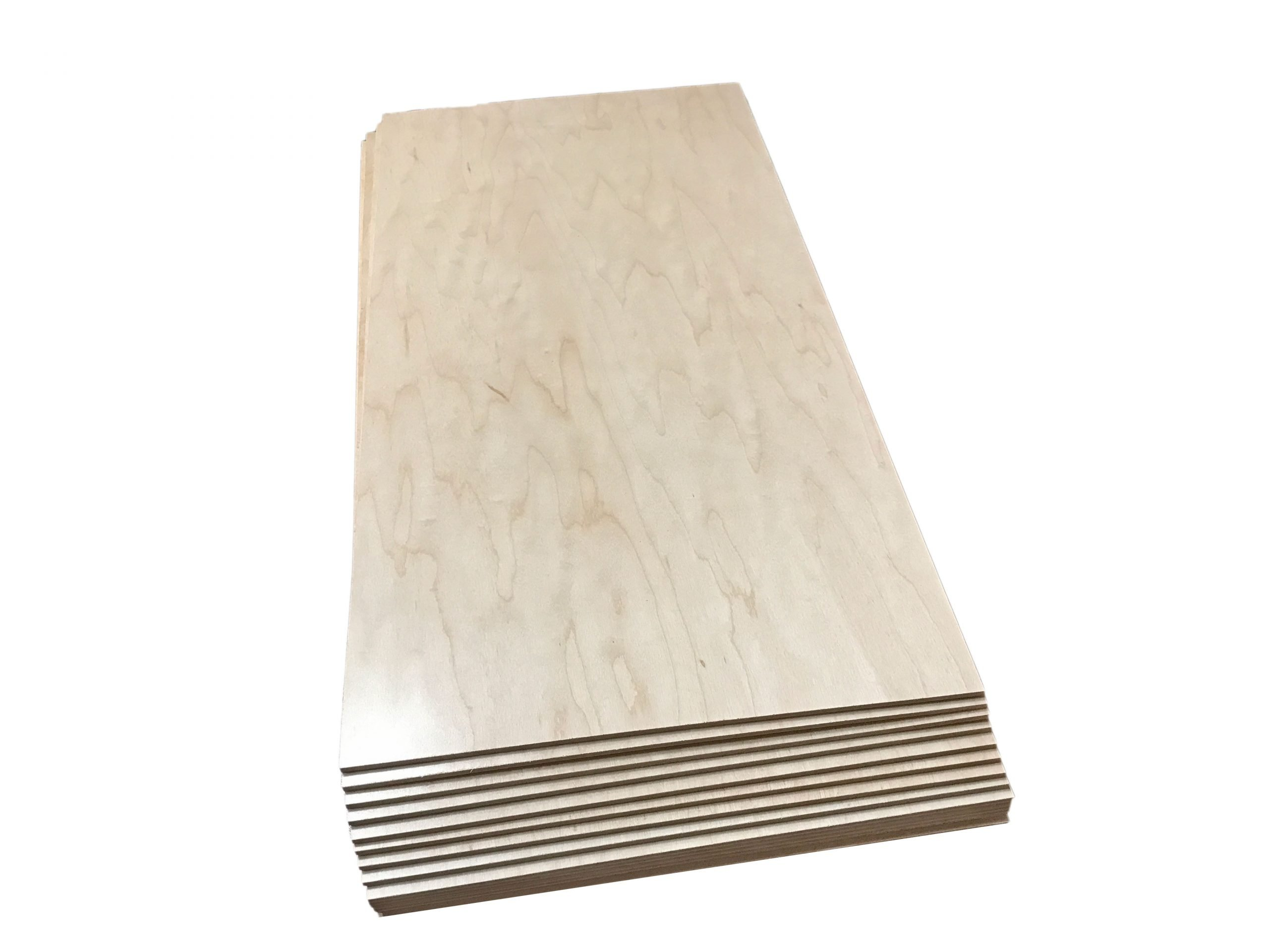 Prefinished Maple Plywood Laserwood