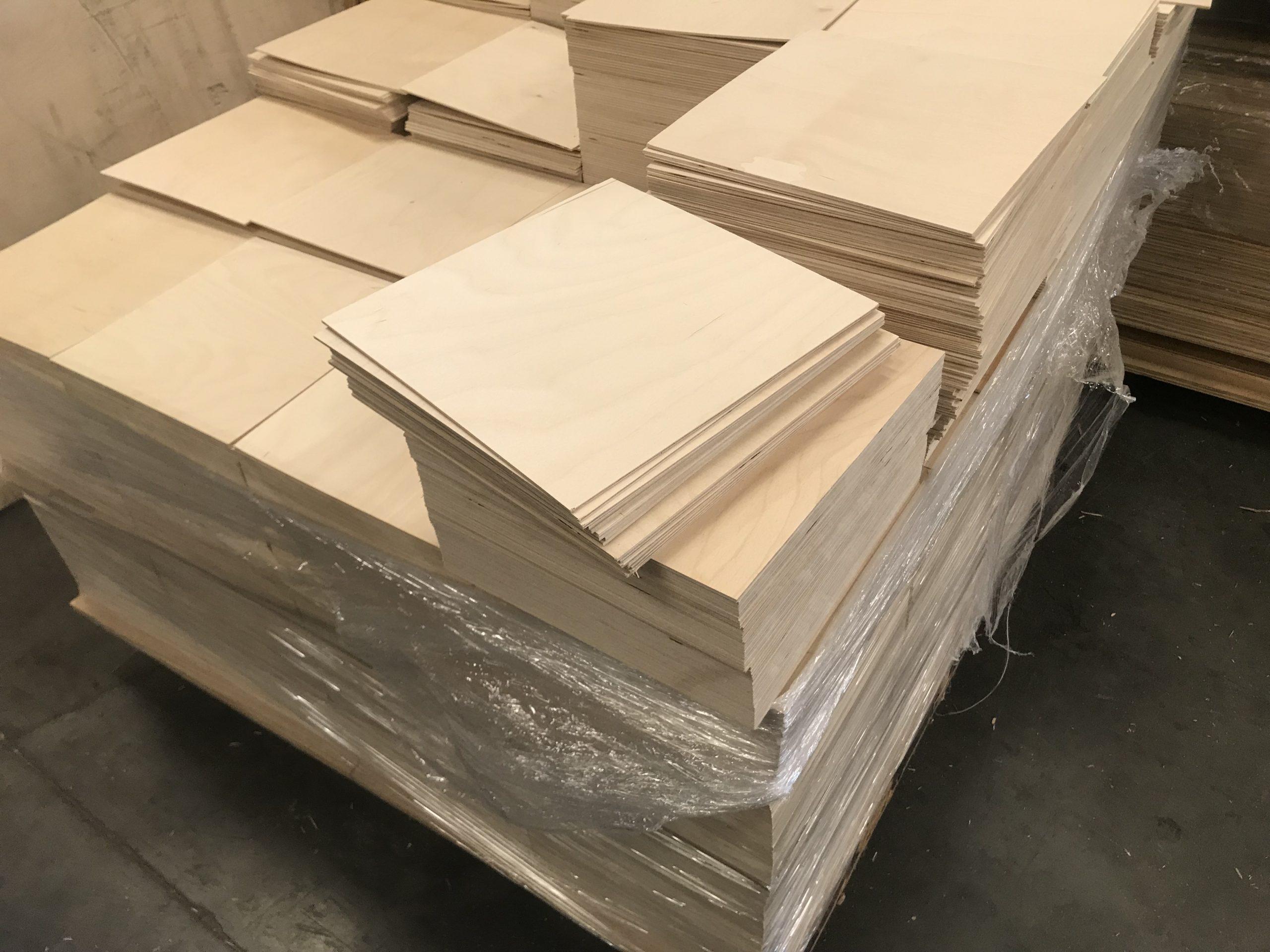1/8 Baltic Birch 12x12 Laser Wood